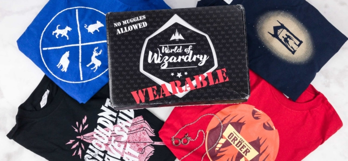 Geek Gear World of Wizardry Wearables Subscription Box Review + Coupon – June 2017