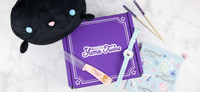 YumeTwins September 2017 Subscription Box Review + Coupon