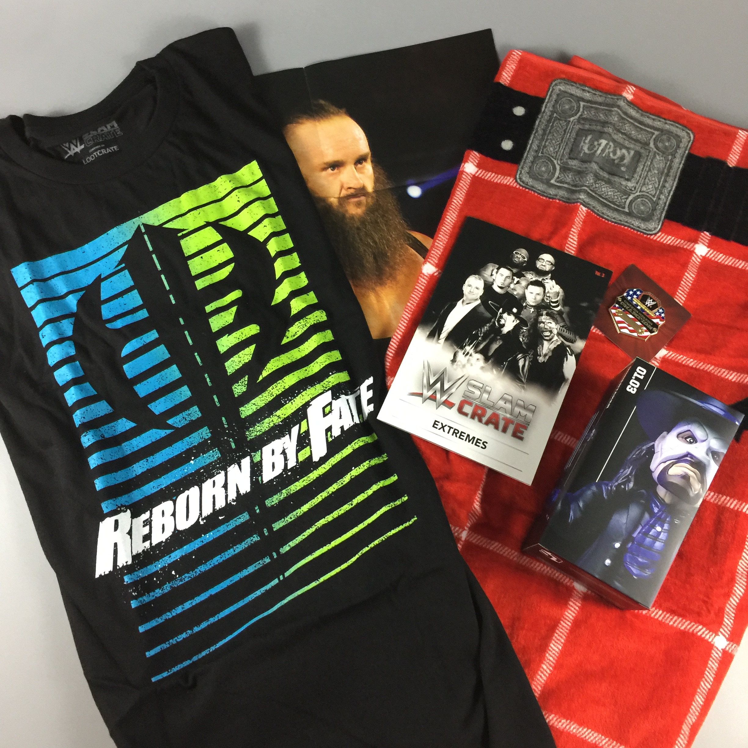 WWE Slam Crate August 2017 Subscription Box Review + Coupons