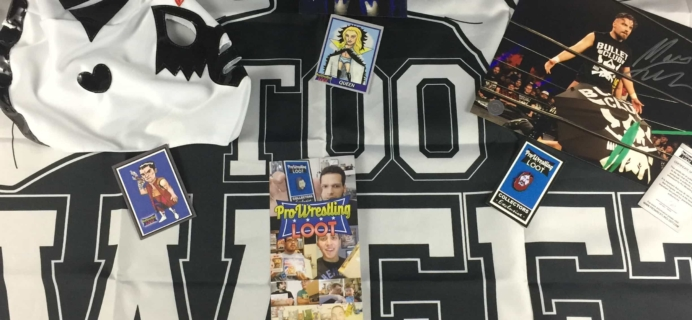 Pro Wrestling Loot September 2017 Subscription Box Review + Coupon