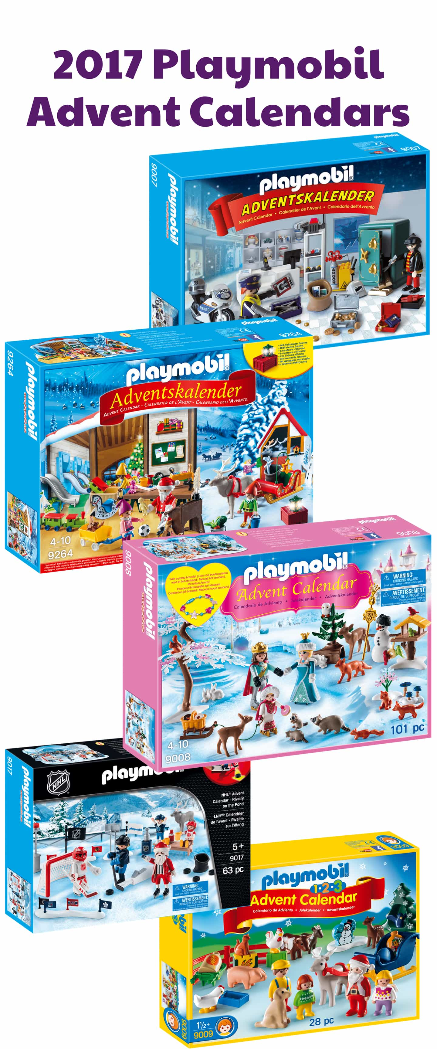 playmobil 2017 advent calendars available now hello subscription. Black Bedroom Furniture Sets. Home Design Ideas