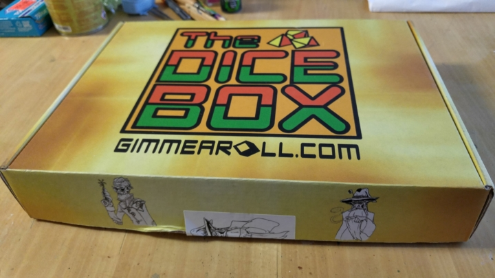 The Dice Box August 2017 Subscription Box Review Coupon