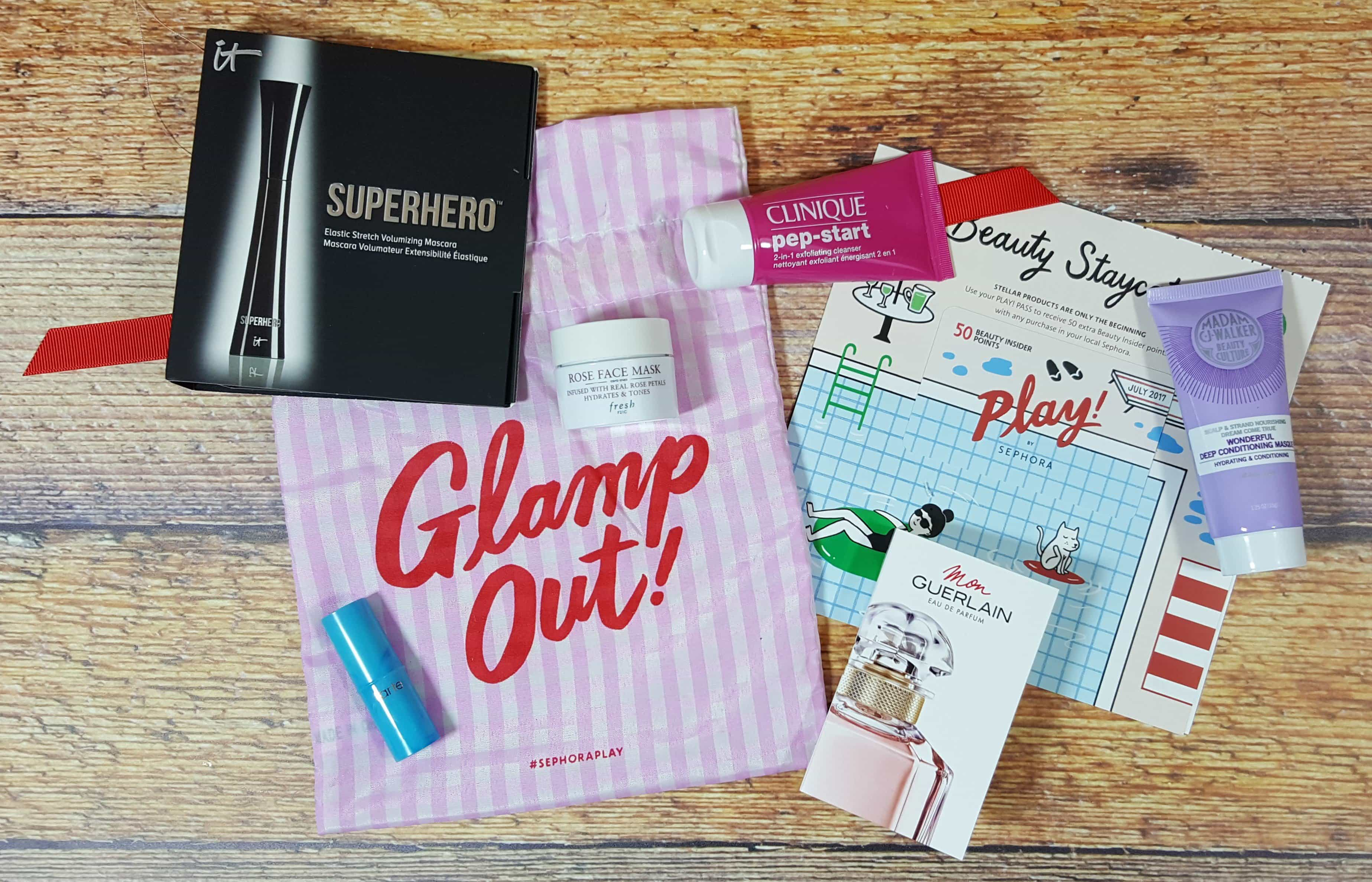 PLAY! by Sephora Subscription Box Review – July 2017
