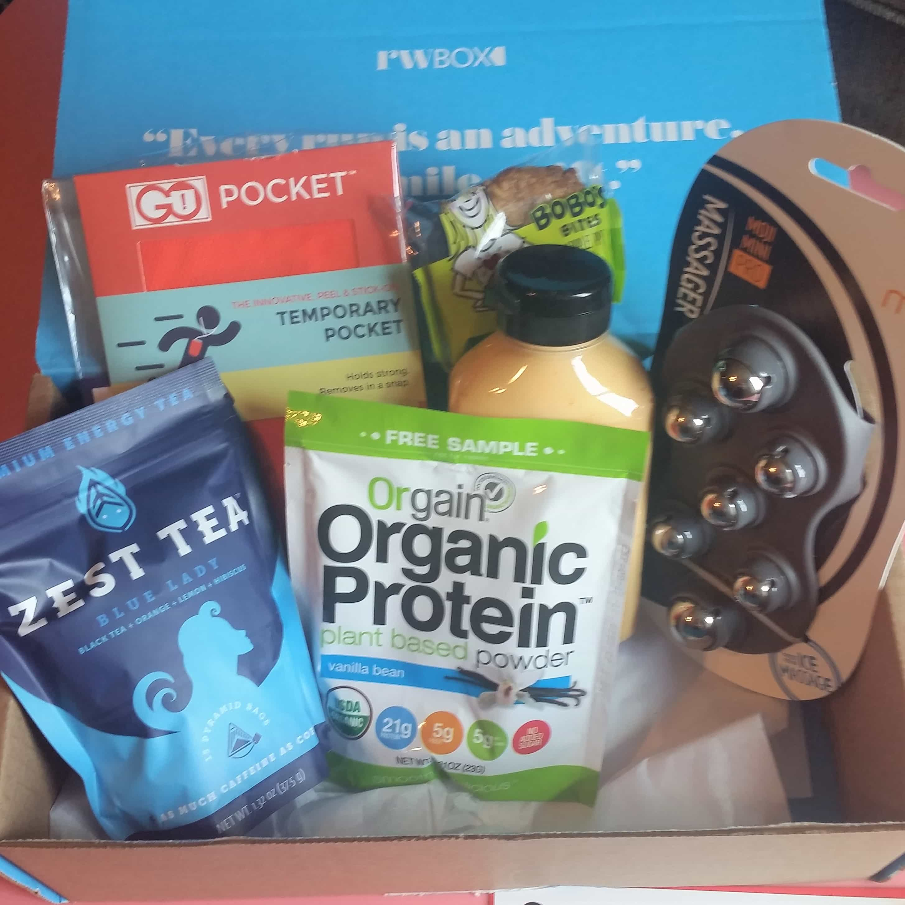 Runner's World Box Subscription Box Review – August 2017
