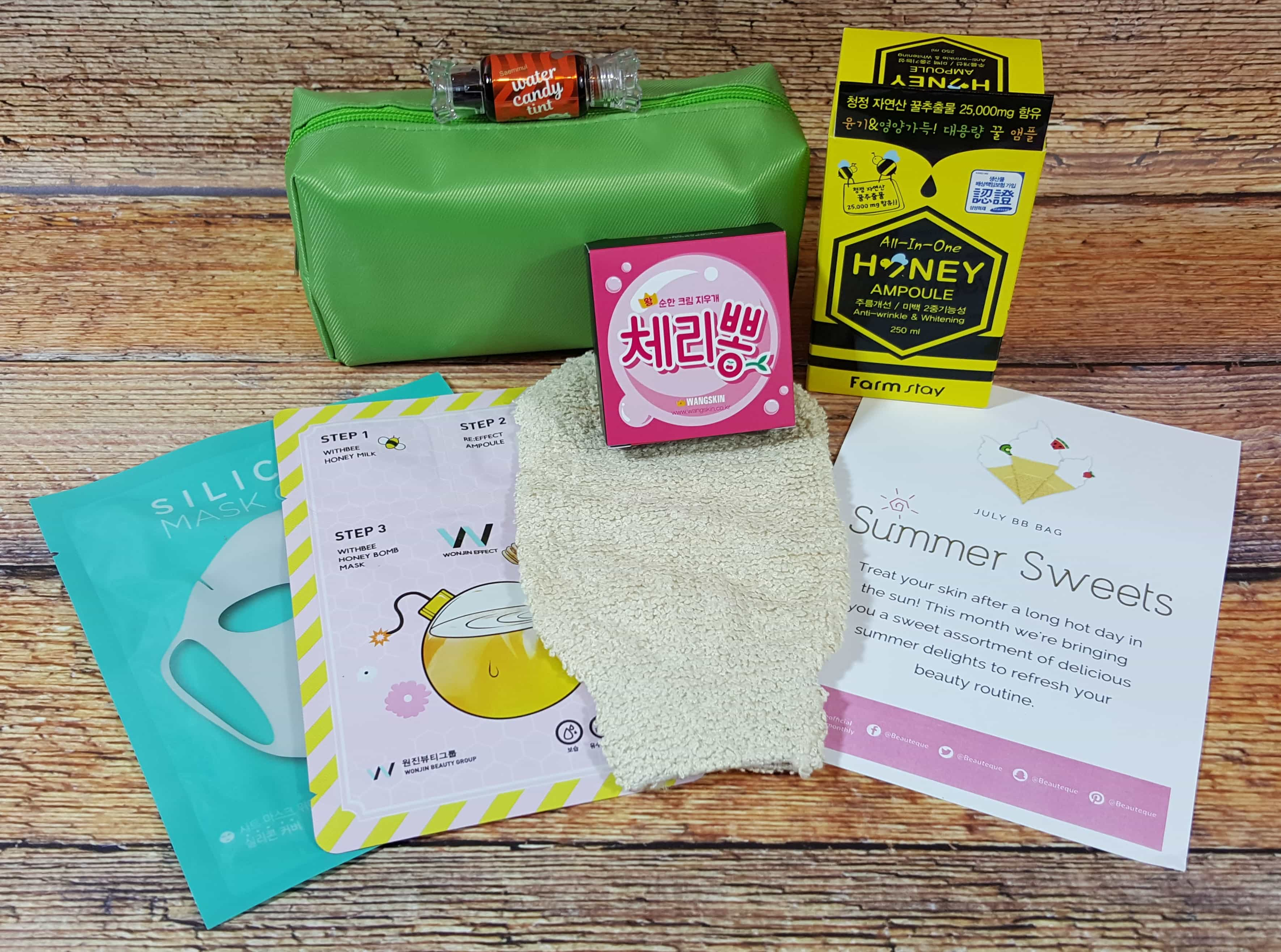 Beauteque BB Bag Subscription Box Review + Coupon – July 2017