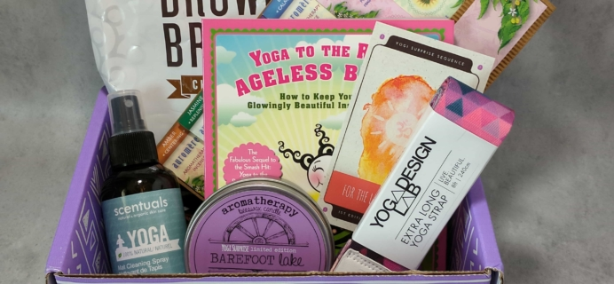 Yogi Surprise Subscription Box Review + Coupon – September 2017