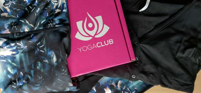 YogaClub Subscription Box Review + Coupon – September 2017
