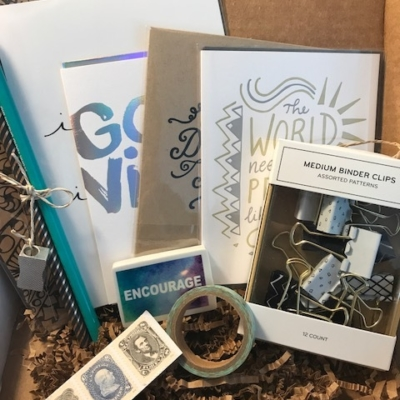 Write Love Parcel September 2017 Subscription Box Review + Coupon!