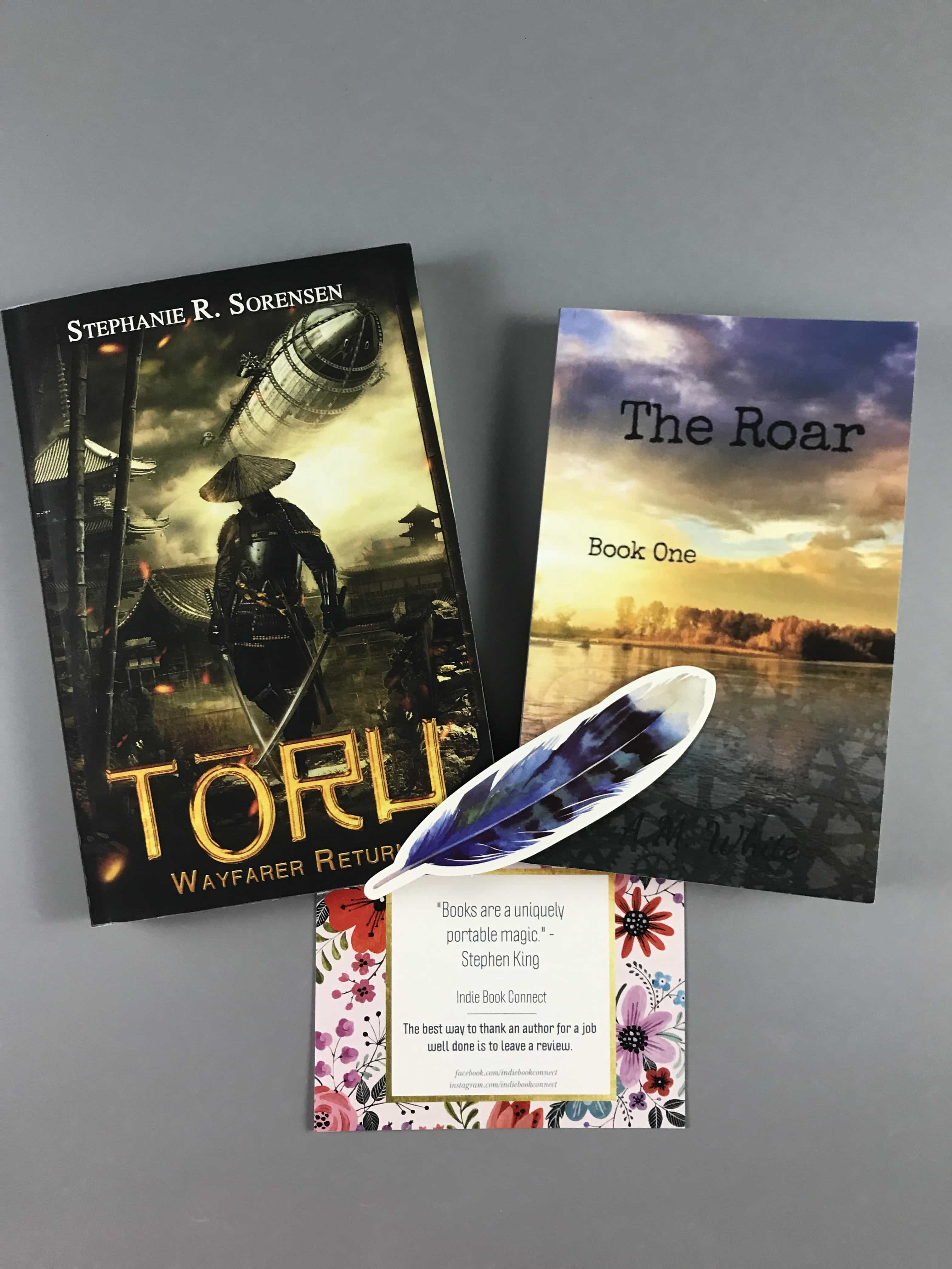 Indie Book Connect Subscription Box Review + Coupon – August 2017