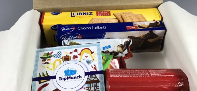 TopMunch September 2017 Subscription Box Review + Coupon – Germany