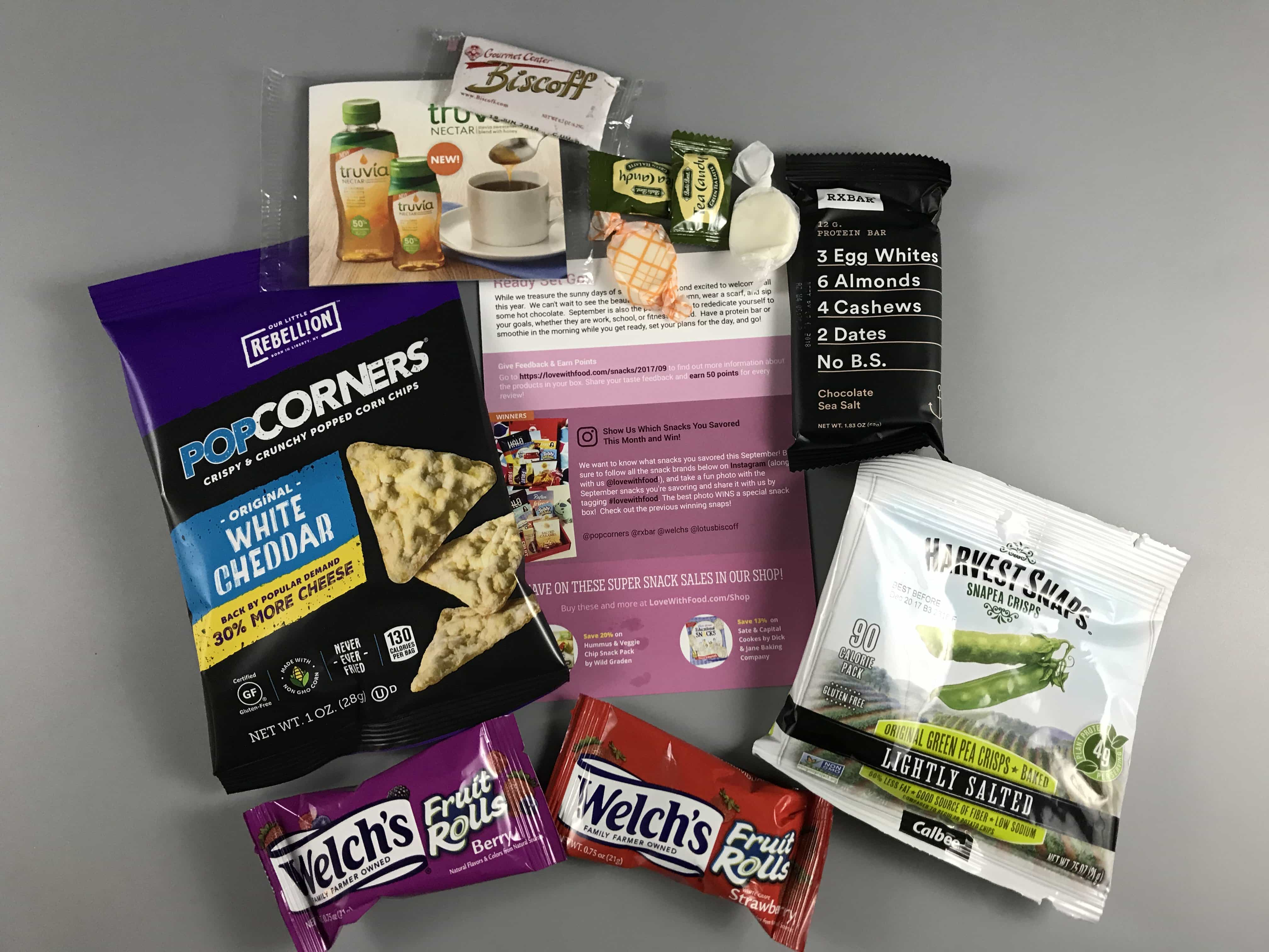 Love With Food September 2017 Tasting Box Review + Coupon!