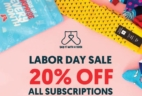 Say It With A Sock Labor Day Deal: 20% Off Subscriptions!