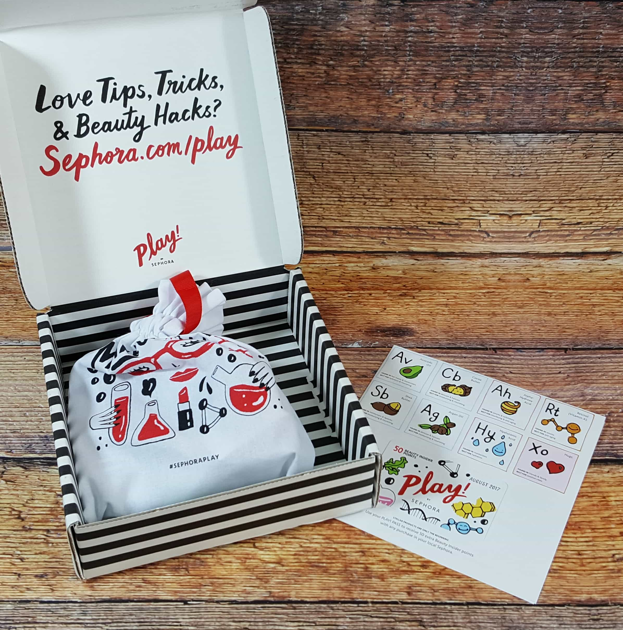 PLAY! by Sephora Subscription Box Review – August 2017