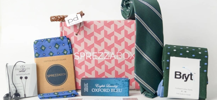 SprezzaBox Subscription Box Review + Coupon – September 2017