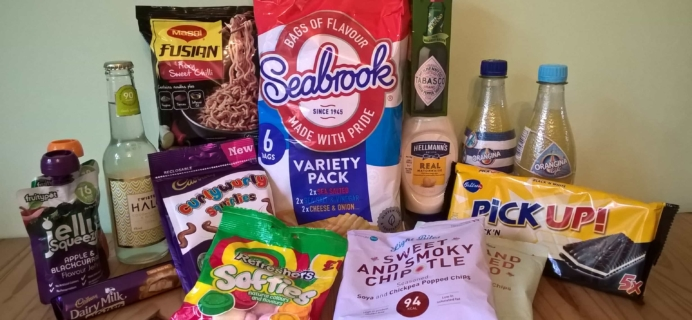 DegustaBox UK August 2017 Subscription Box Review
