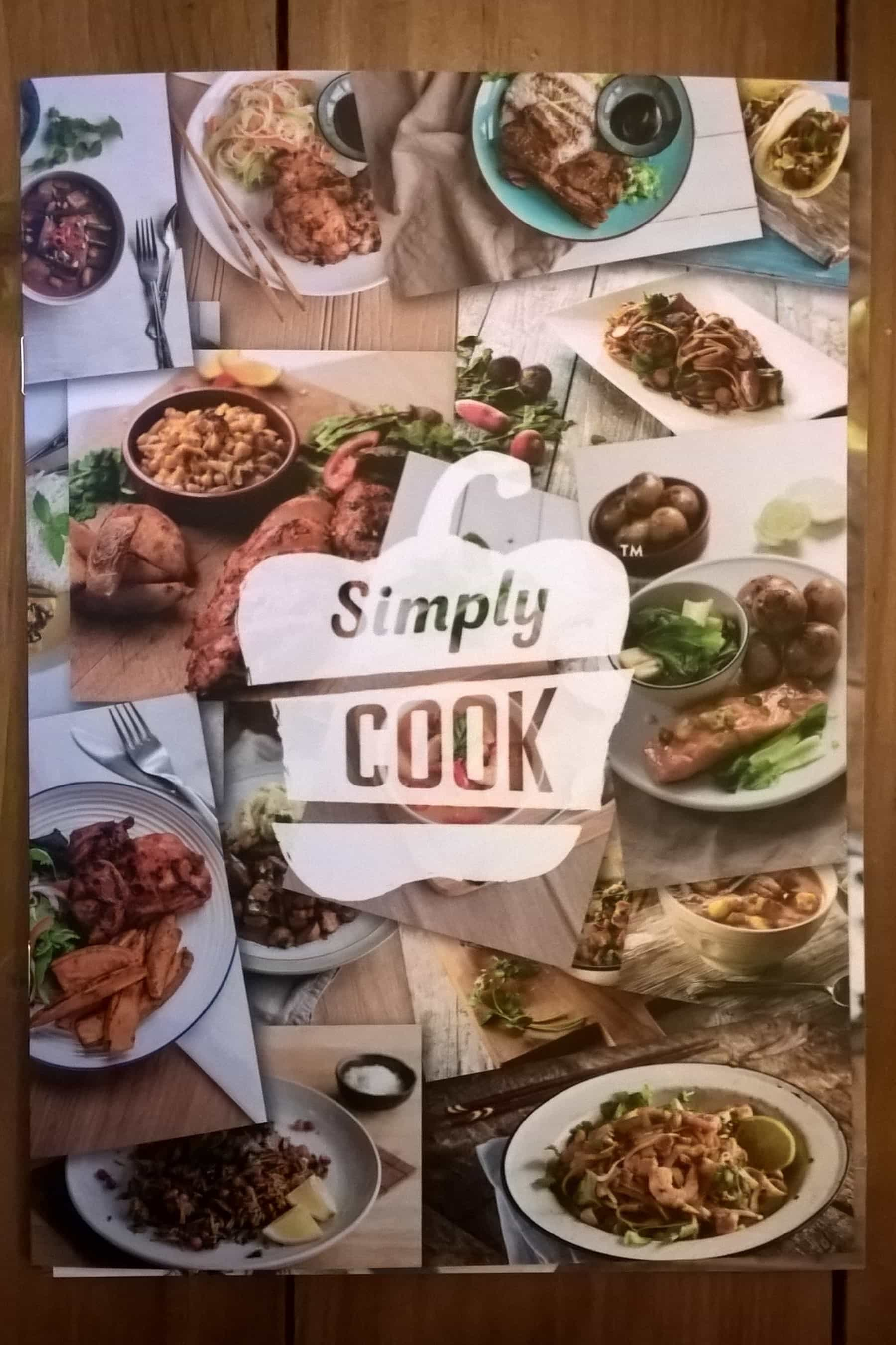 Simply cook subscription box review coupon august 2017 hello simply cook is a uk subscription box designed to help you cook restaurant quality meals in 20 minutes or less each box comes with four recipe cards and an forumfinder Choice Image
