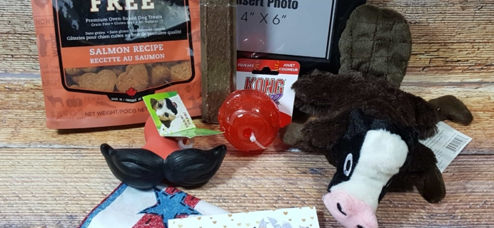 Wigglebutt Box Dog Subscription Box Review – June 2017
