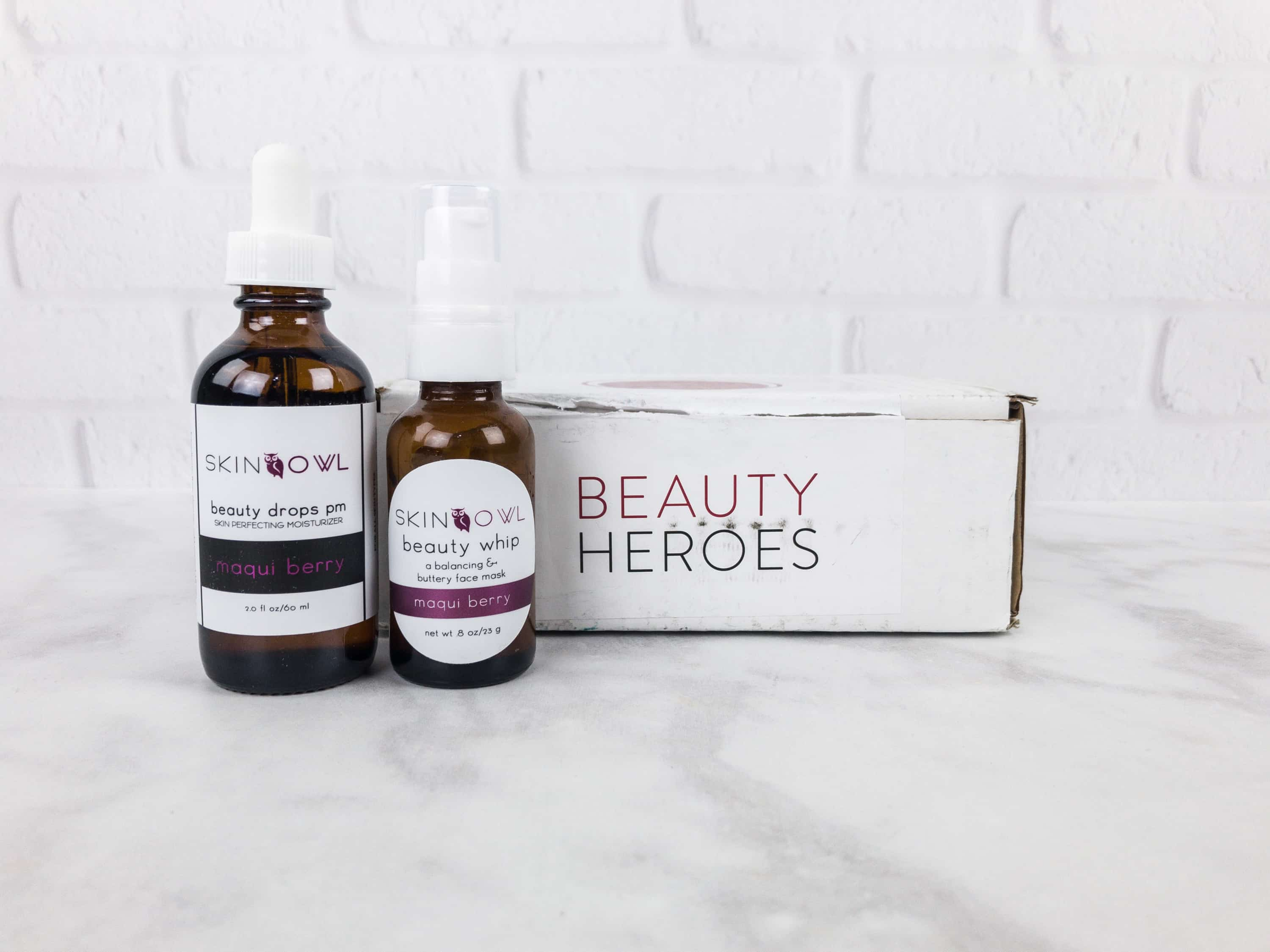 Beauty Heroes September 2017 Subscription Box Review