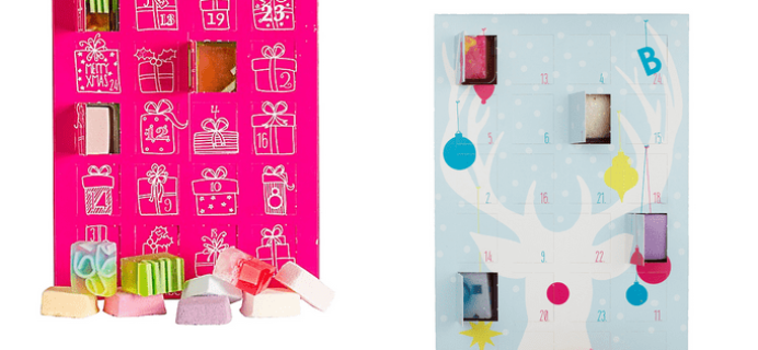 Bomb Cosmetics Advent Calendars 2017 Available Now!