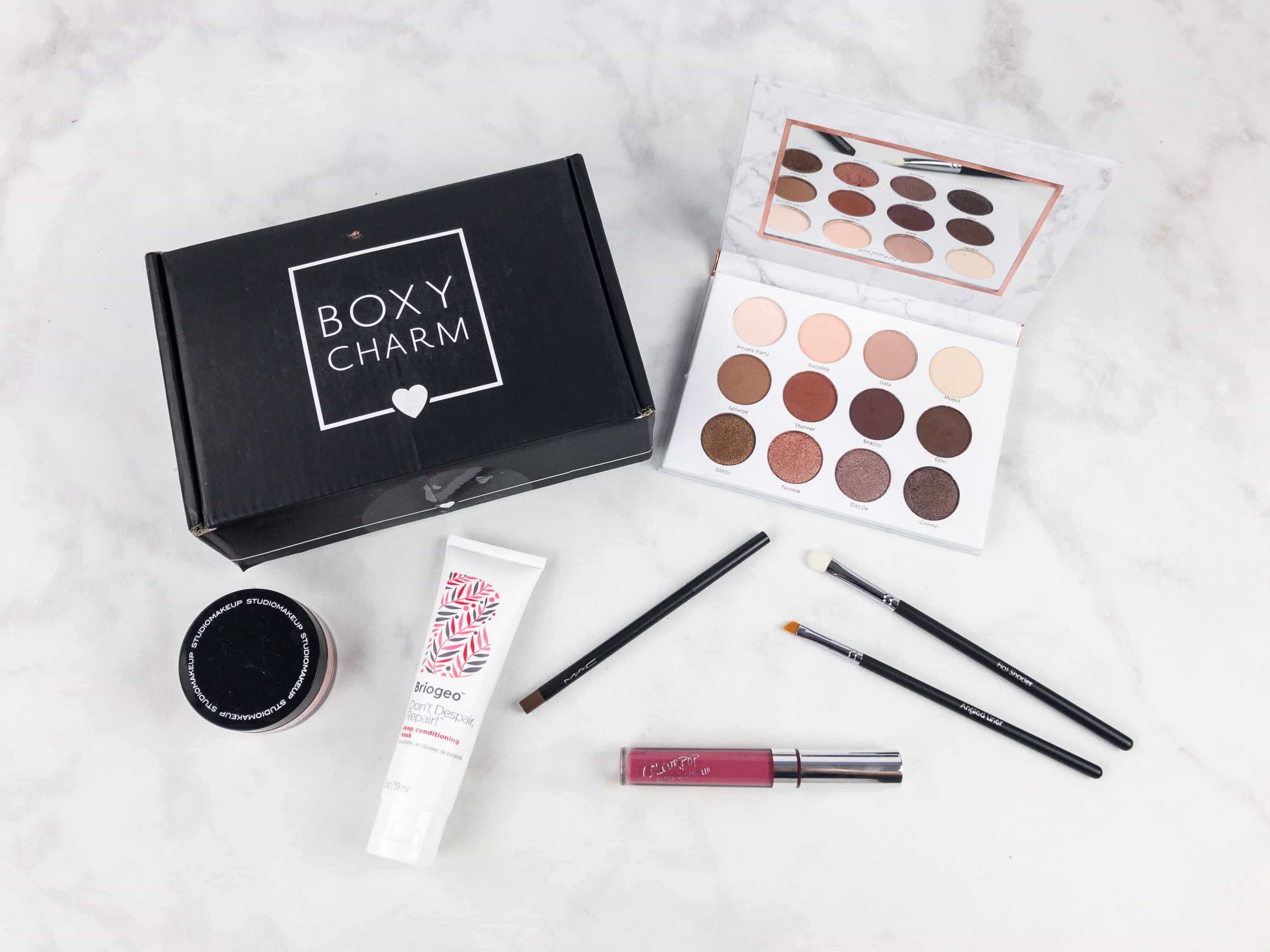 BOXYCHARM September 2017 Subscription Box Review