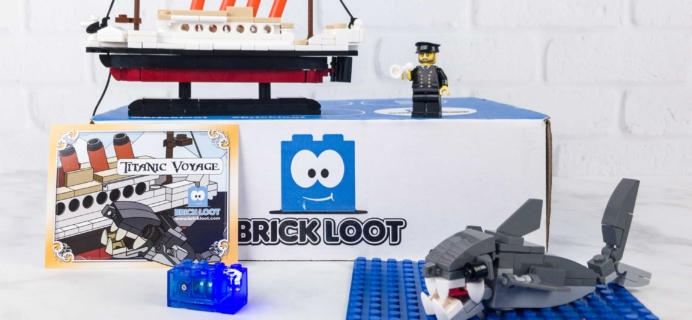 Brick Loot September 2017 Subscription Box Review & Coupon