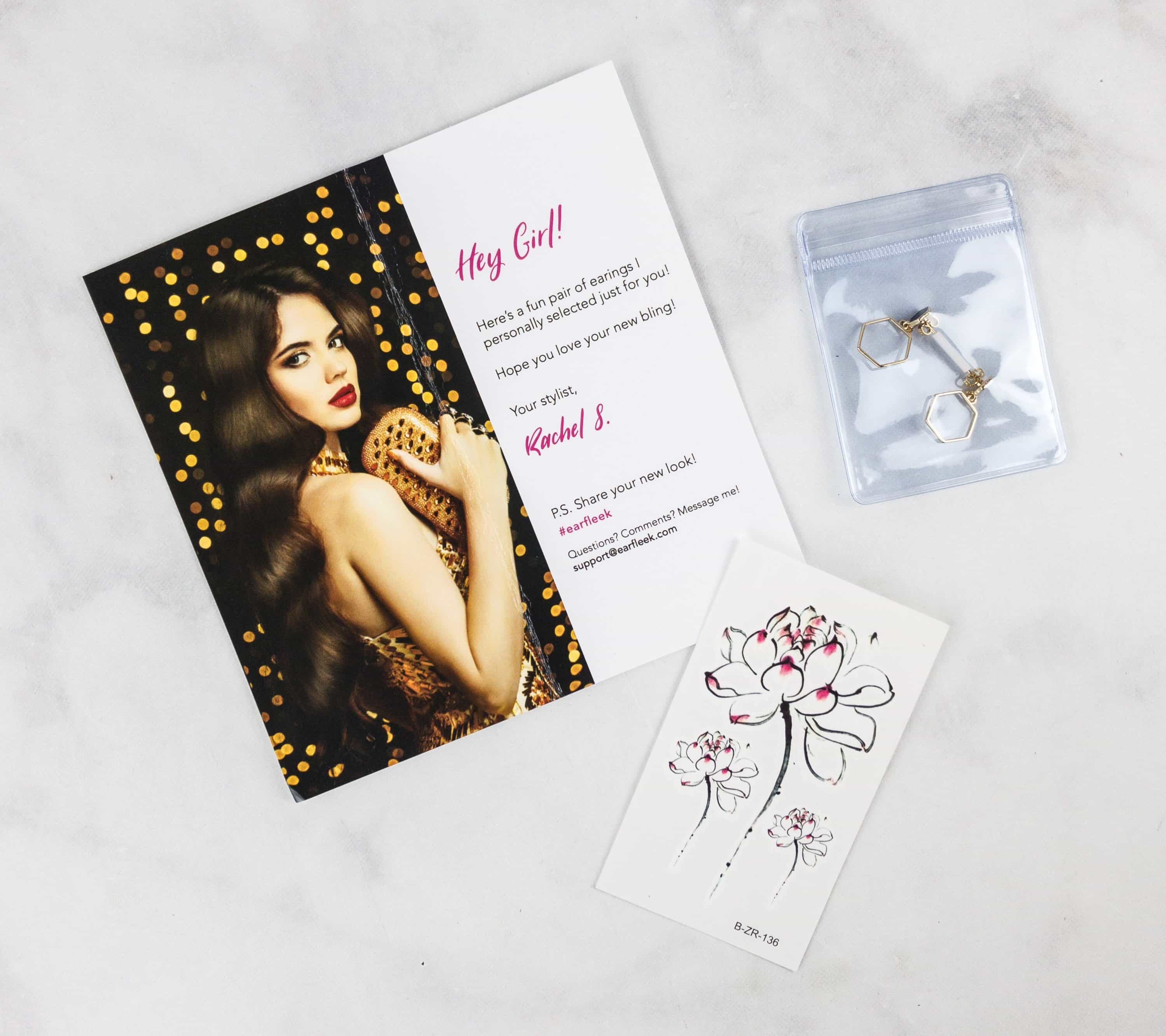 EarFleek September 2017 Subscription Box Review + 50% Off Coupon