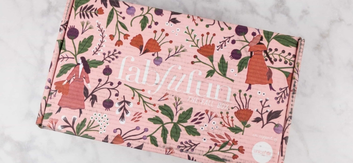 FabFitFun Fall 2017 Subscription Box Review + $10 Coupon