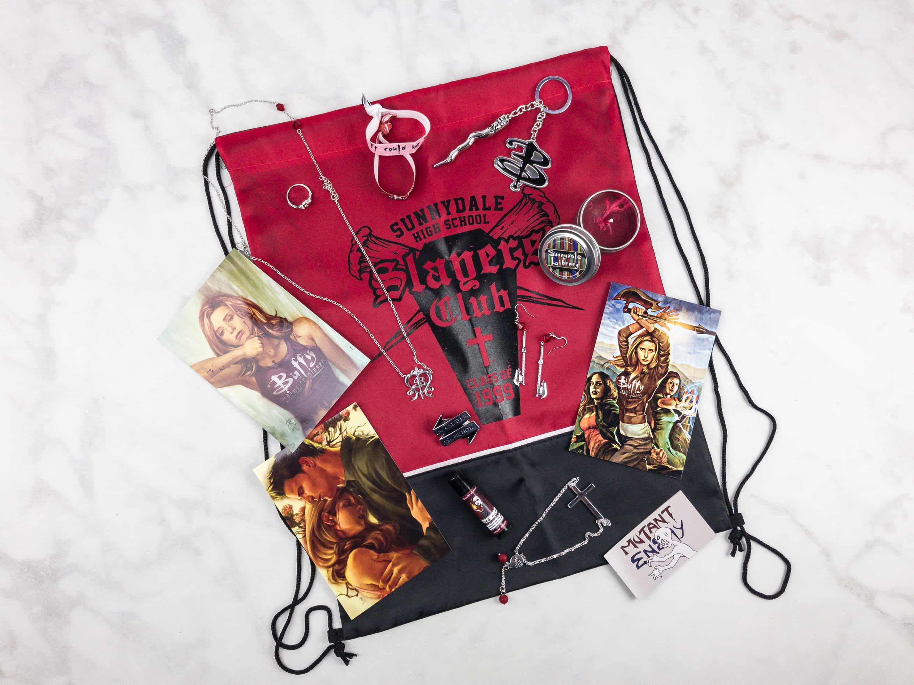Geek Chic Monthly Limited Edition Box Review – Buffy The Vampire Slayer
