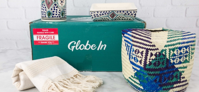 "September 2017 GlobeIn Artisan Box Club Subscription Box Review + Coupon – ""Freshen"" Premium Box"