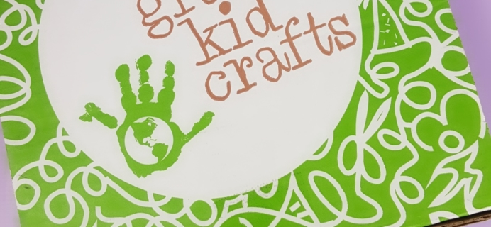 Green Kid Crafts September 2017 Subscription Box Review + 50% Off Coupon!