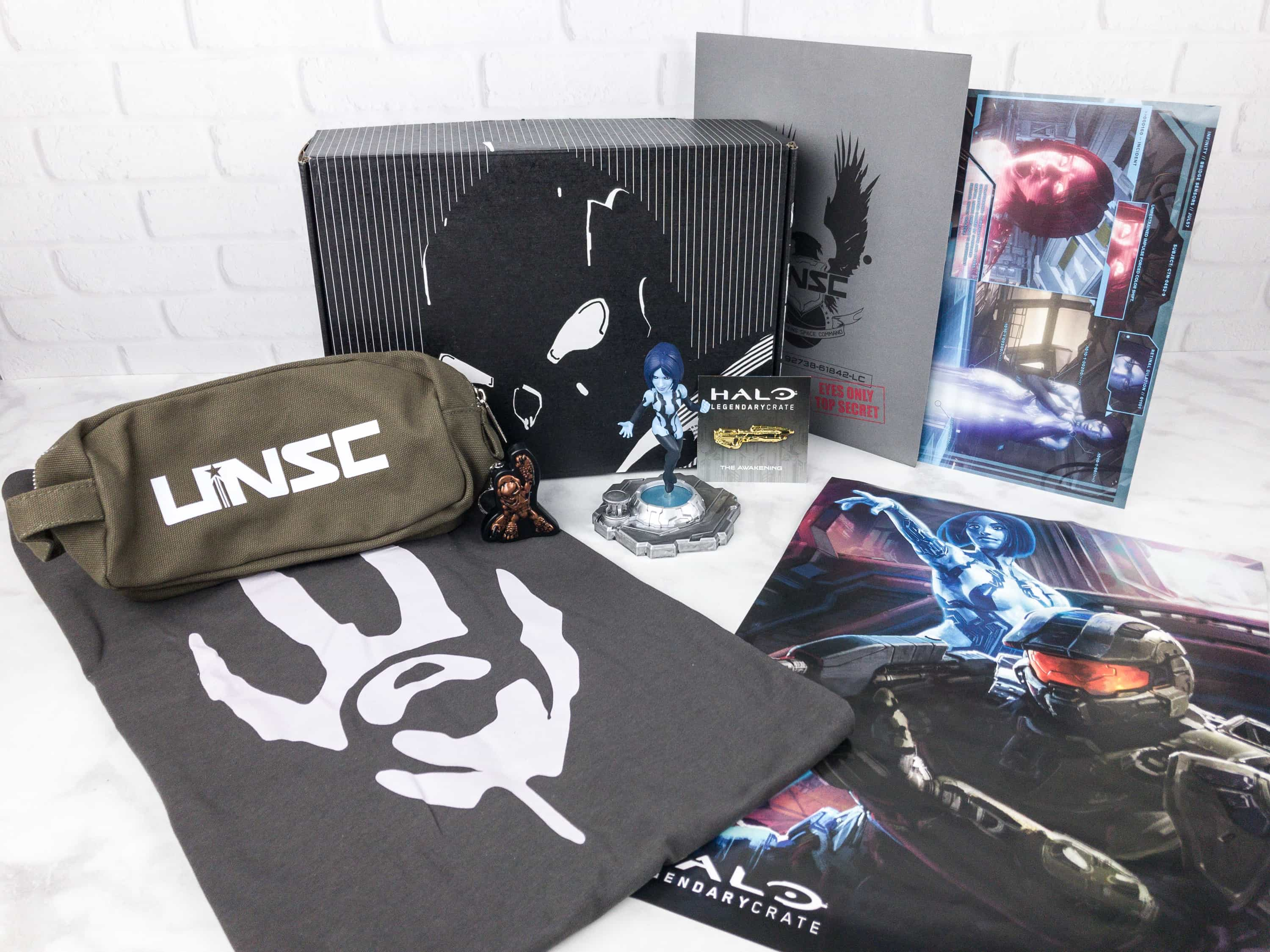 Halo Legendary Crate August 2017 Subscription Box Review + Coupon
