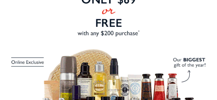 2 New Limited Edition L'Occitane Weekend Getaway Collections Available Now – Labor Day Weekend Only!