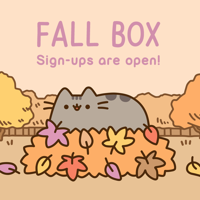 Pusheen Box Waitlist Open – Subscribe for Fall 2017 Box!
