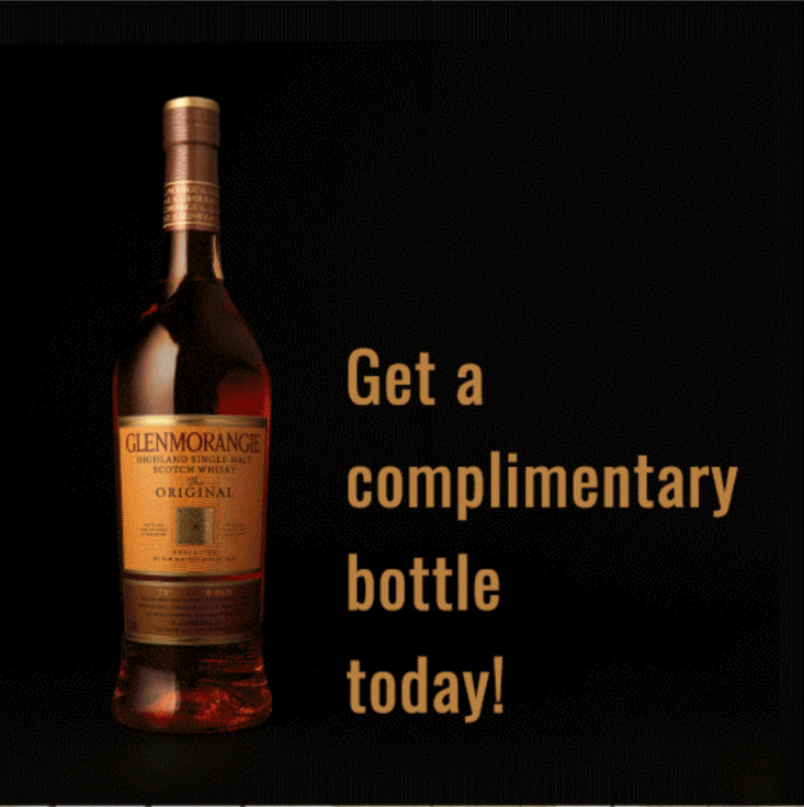 Robb Vices Labor Day Coupon: Glenmorangie with Subscription!