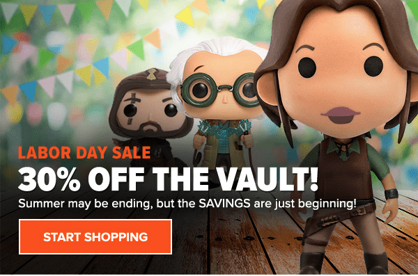 Loot Vault 30% Off Labor Day Sale!
