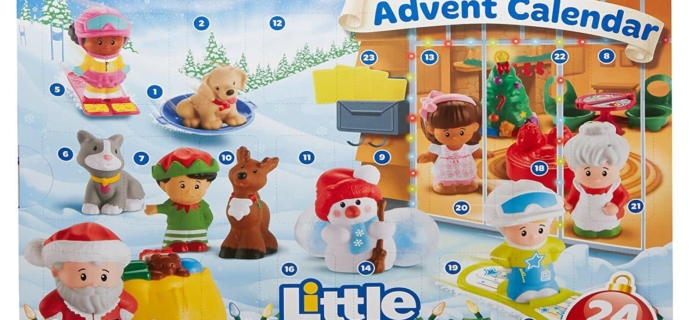 Little People 2017 Advent Calendar PRICE DROP to $17.50 – 50% Off!