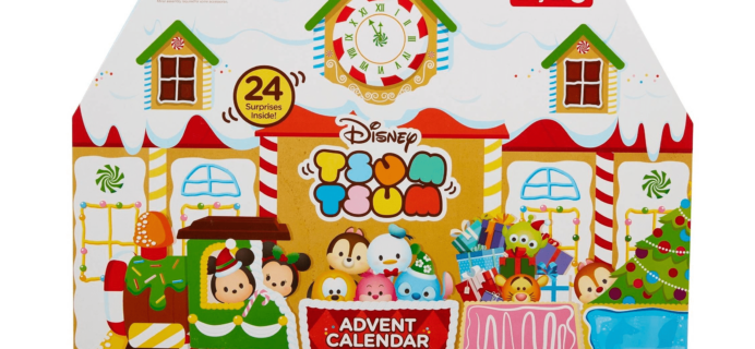 2017 Disney Tsum Tsum Target Exclusive Advent Calendar Available Now!