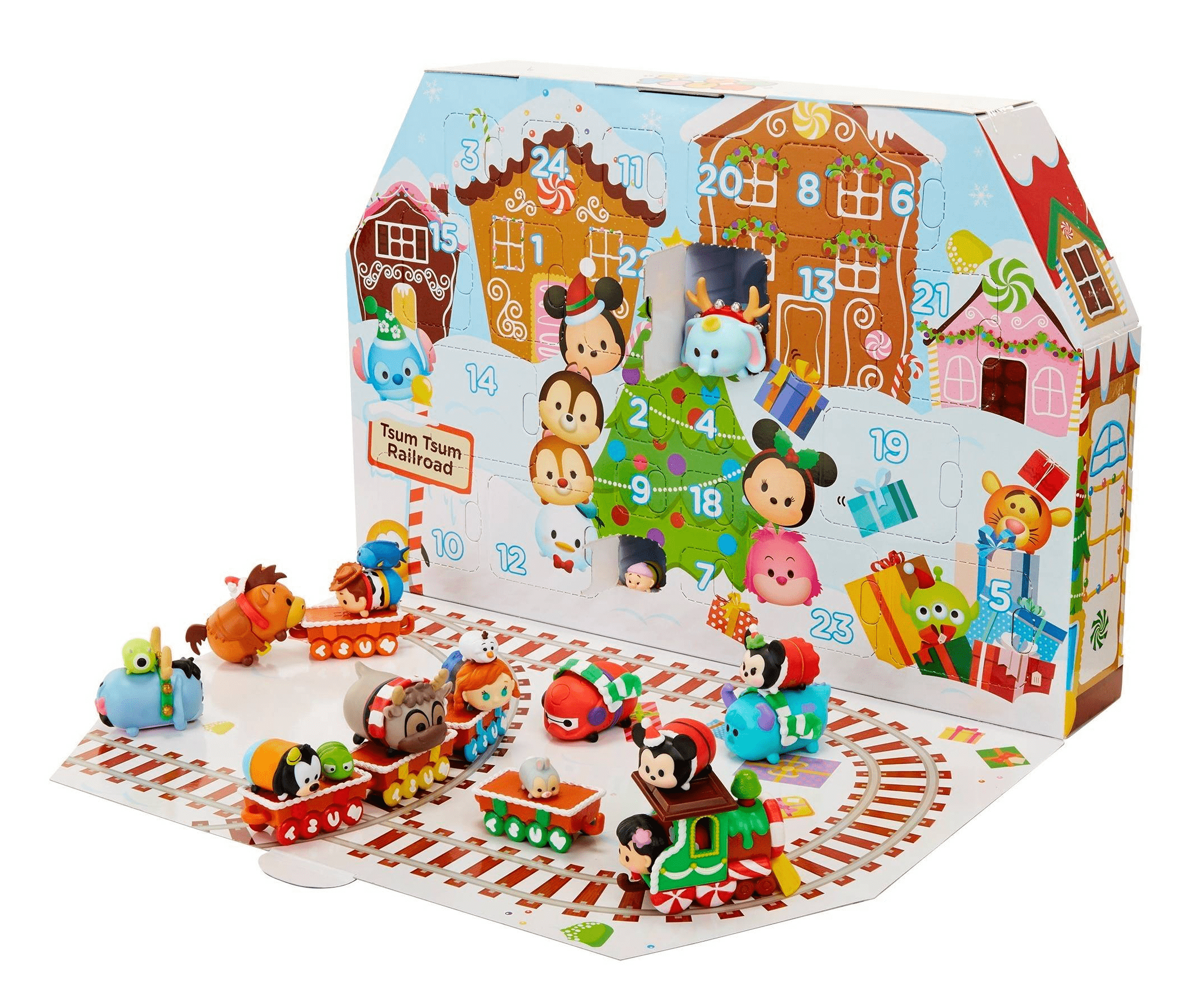 2017 disney tsum tsum target exclusive advent calendar. Black Bedroom Furniture Sets. Home Design Ideas