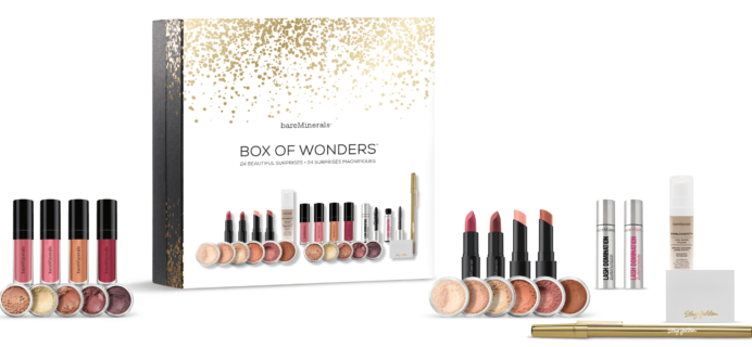 bareMinerals 2017 Beauty Advent Calendar Cyber Monday DEAL $36.75 Shipped!