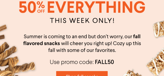 Naturebox Coupon: Save 50% on First Order!