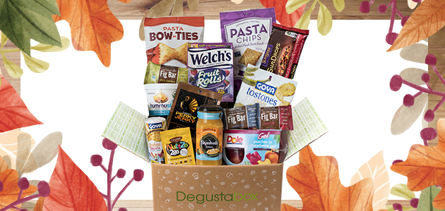 Degustabox November 2017 Spoiler #2 + First Box $9.99 + Free Gift!