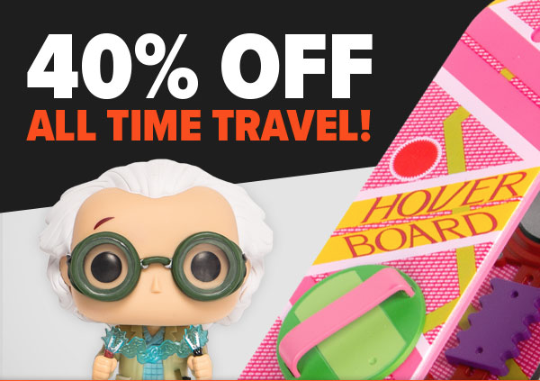 Loot Vault Sale: 40% Off Time Travel Merch!