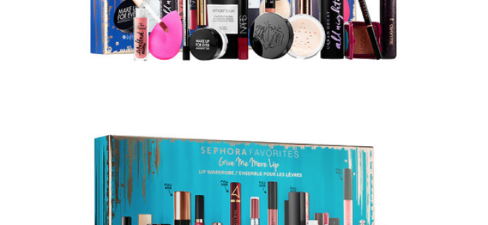 Two NEW Sephora Favorites Kits for Holiday 2017 Available Now!