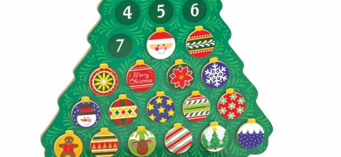 Melissa & Doug Wooden Advent Calendar Only $10.49 TODAY ONLY