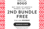 Honest Company Bundle BOGO Deal is Back!