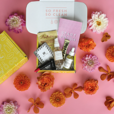 Oui Fresh Natural Beauty Box from A Beautiful Mess Available Now + October 2017 Spoilers!