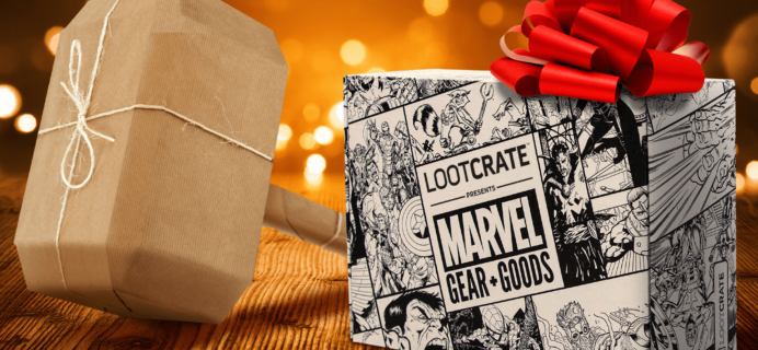 Loot Crate Marvel Gear + Goods November 2017 FULL Spoilers!