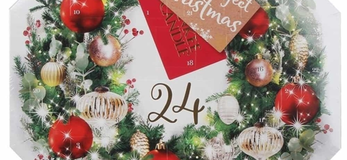 Yankee Candle UK Advent Calendar Available Now!