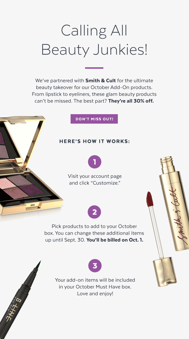 POPSUGAR Must Have Box October Add-Ons Available Now!