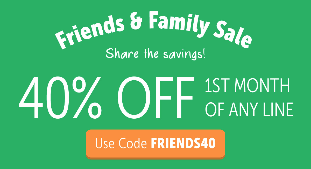 KiwiCo Friends & Family Sale: 40% Off First Month!